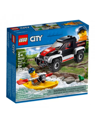 LEGO 60240 AVENTURA EN KAYAK 5702016396188 Lego