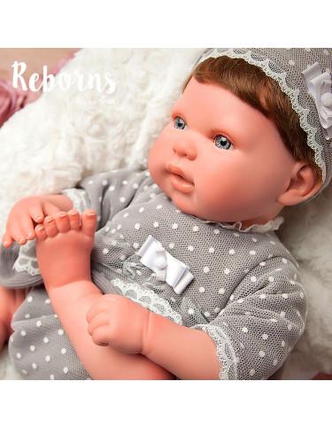 LUCIA REBORN ARIAS CON PELO 8427614980412 Reborn