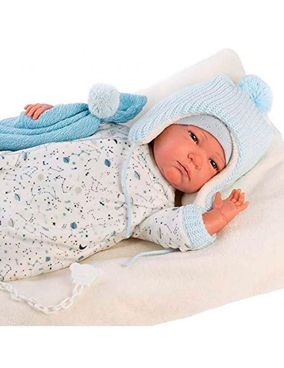 Reborn Bebé Conjunto Azul 8426265180066 Bebés