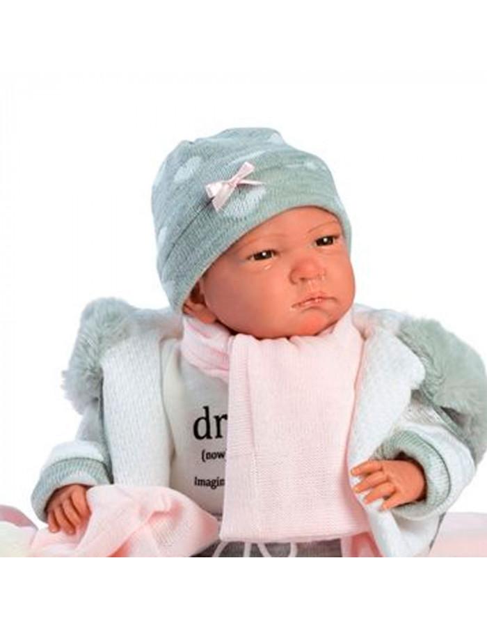 Reborn Bebé Conjunto Gris De Llorens