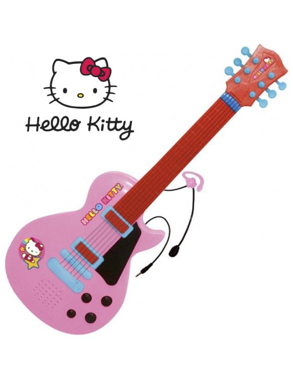 Hello Kitty Guitarra Electrónica con Micro 8411865015054