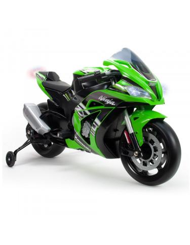 Moto Kawasaki Zx10 12V con Luces y Sonido 8410964064956