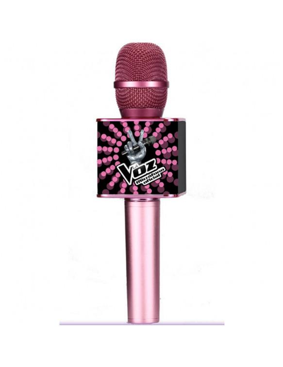 Micrófono La Voz Rosa 8436540430298 Micrófonos