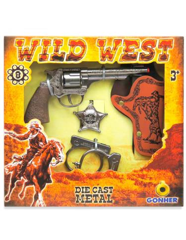 Pistola Cowboy y Accesorios 8410982015701 Imitación
