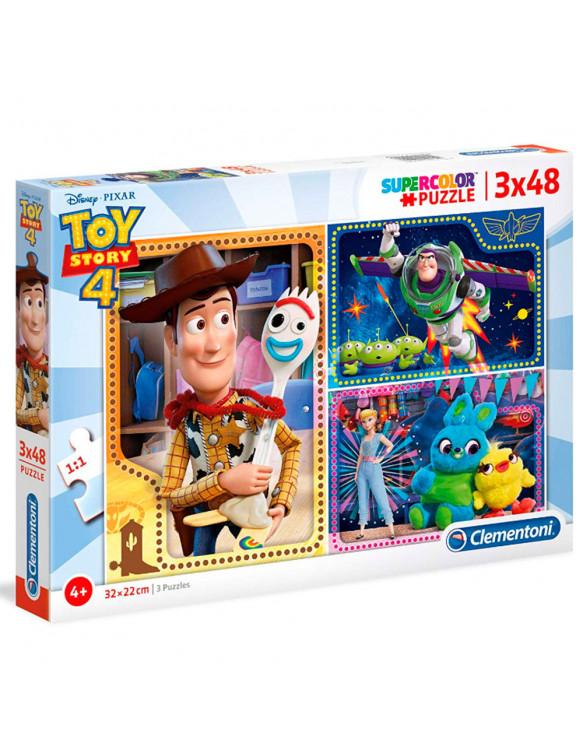 Toy Story Puzzle 3X48pz 8005125252428 Menos de 50 piezas