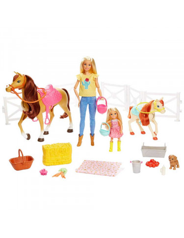 Barbie y Sus Caballos 887961691368 Barbie