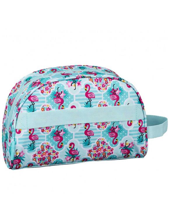 Neceser Flamingo Turquoise 8412688336197 Estuches y plumiers
