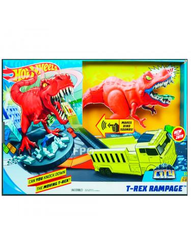 Hot Wheels T-Rex Rampage 887961762563 Pistas y circuito