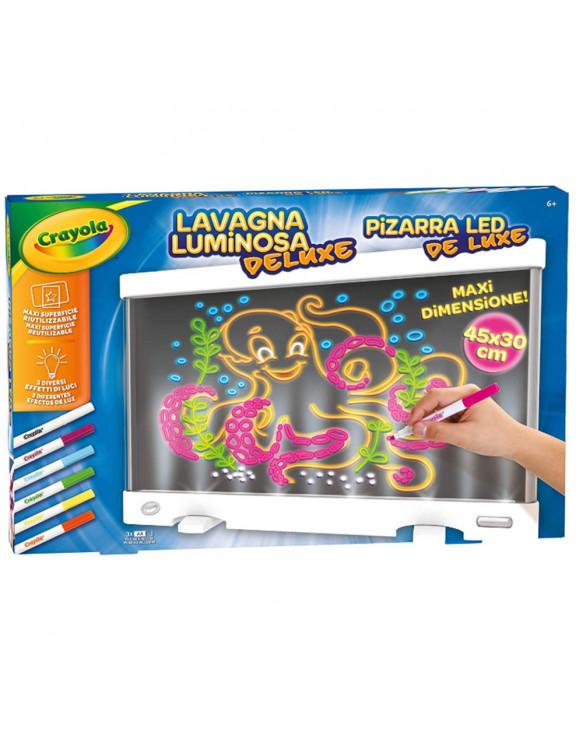Pizarra Led De Luxe 5010065072466 Dibujar y pintar