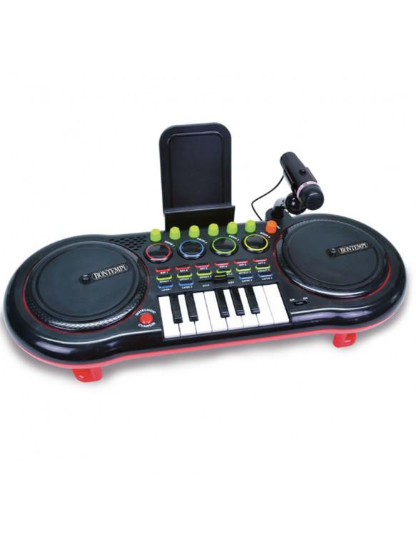 Dj Mixer Con Micrófono 0047663338033 Baterías