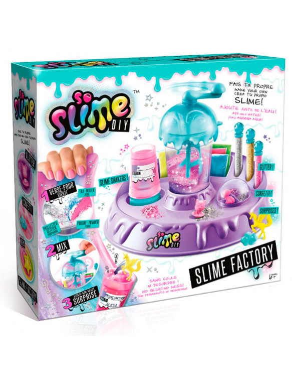 Slime Factory Mix& Match 3555801358401 Slime