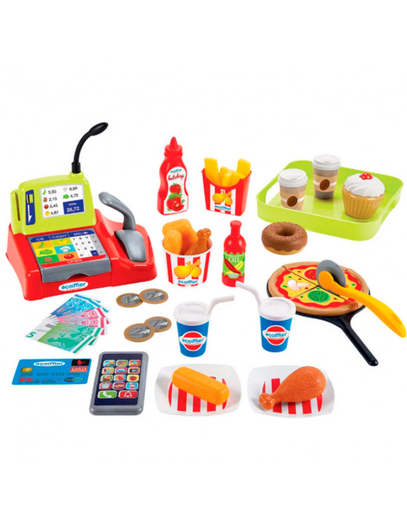 Caja Registradora Fast Food 3280250025955 Cajas registradoras