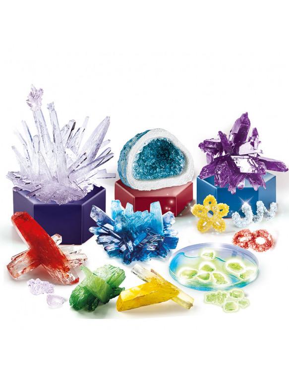 Laboratorio De Cristales Gigantes 800512555322 Experimentos