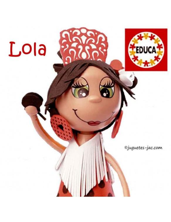Fofucha Lola Educa 8412668163744