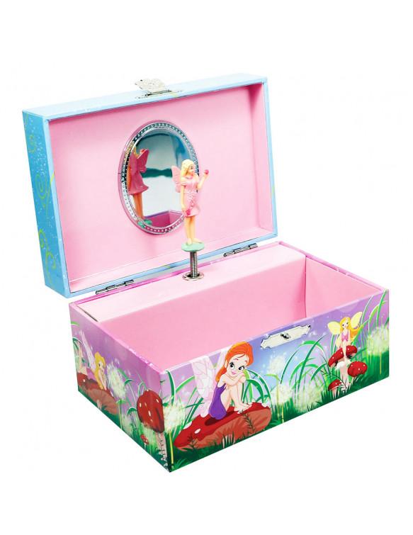 Joyero Musical Hadas 4894620920208 Maquillaje y peluquería