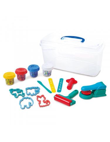Plastilina Caja Plástico Pcon Accesorios 4892401087560