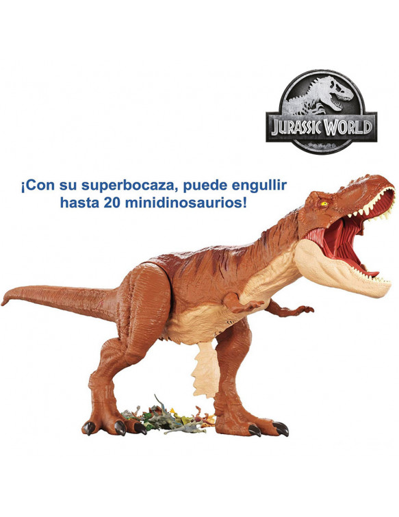 Jurassic World Tyrannosaurus Rex Super Closal 887961577136