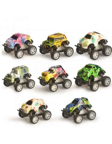 Coches de Metal Caja 4 6931000063204 Coches, motos y camiones