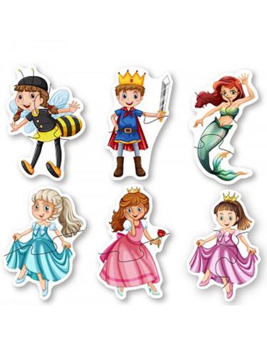 Puzzle Princesas Infantil 6931000880610 Menos de 25 piezas