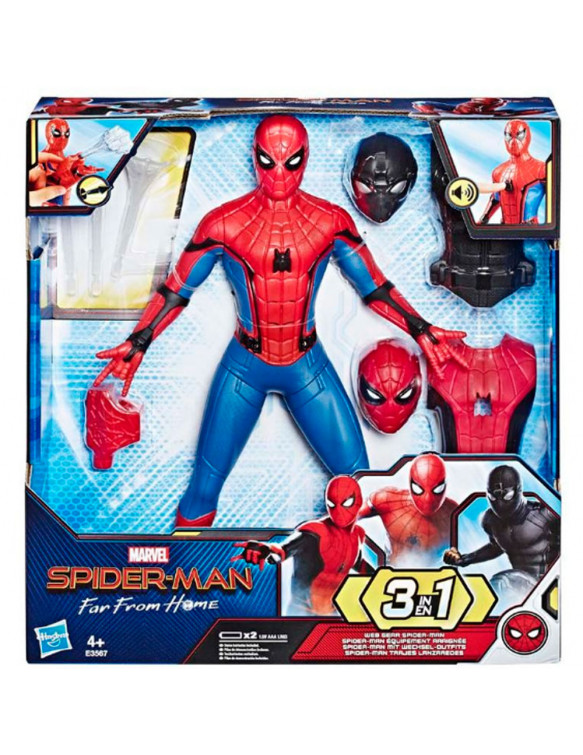 Spiderman Figura Deluxe 5010993562725 Spiderman