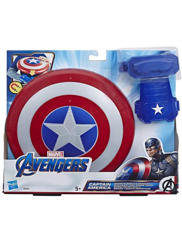 Capitán América Escudo Y Guante Magnéticos 5010993582839 Los