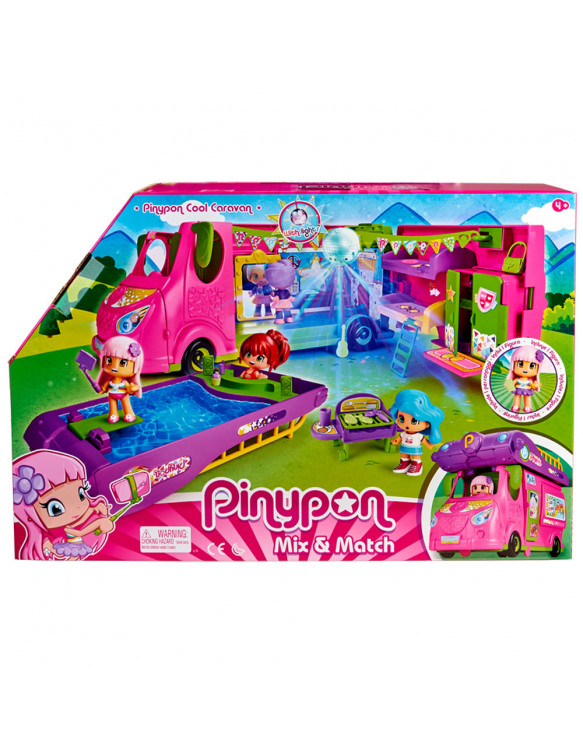 Pinypon Cool Caravana 8410779068835 Pin y pon
