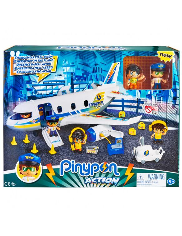 Pinypon Action Emergencia En El Avión 8410779069764 Pinypon
