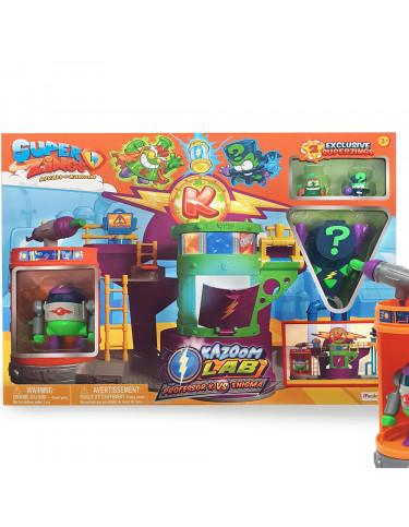 Superzings Kazoom Lab Battle 8431618009666 Juguetes Superzings