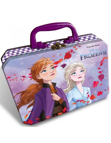 Frozen2 Maletín Metálico Maquillaje Y Accesorios 8412428016914