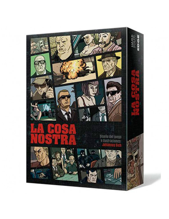 La Cosa Nostra 8435407622197 Juegos de estrategia