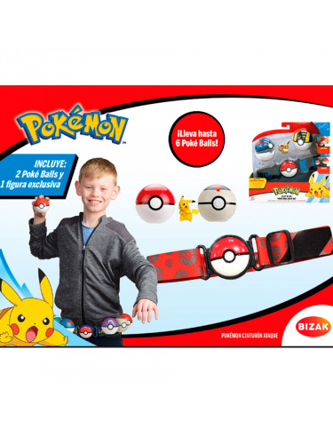 Pokemon Cinturón Ataque 8432752025826 Pokemon