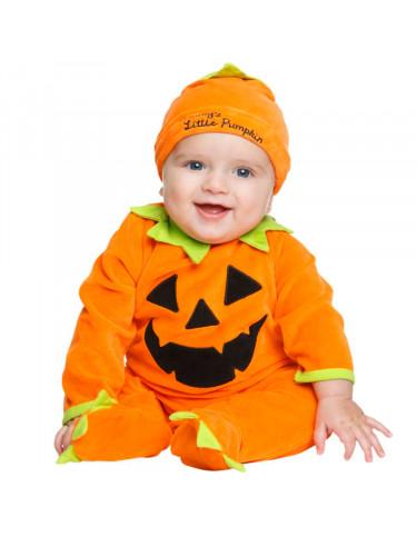 Disfraz Calabaza Bebé Cotton 7-12 Meses