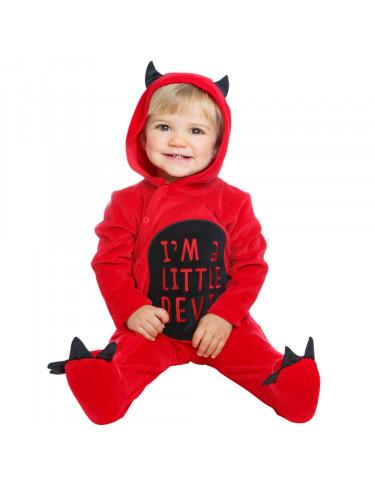 Disfraz Diablillo Bebé Cotton 0-6 Meses