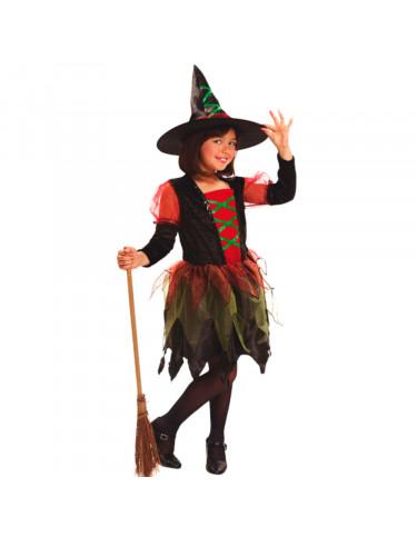 Disfraz Brujita De Colores 5-6 años