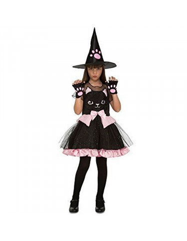 Disfraz Bruja Gatito 7-9 años