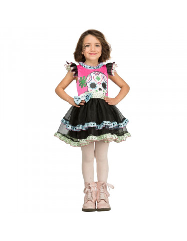 Disfraz Calaverita Colores 10-12 años