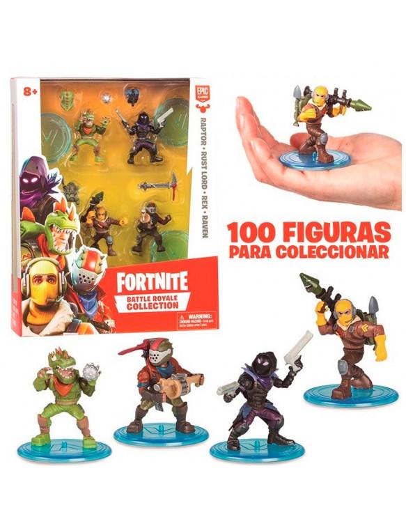 Fortnite S3 4 Figuras Edición Limitada