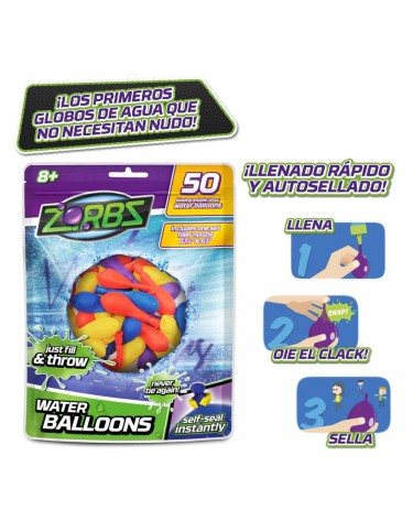 Zorbz 50 Globos de Agua 8056379003243