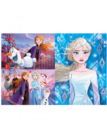 Frozen Puzzle 2x38pz