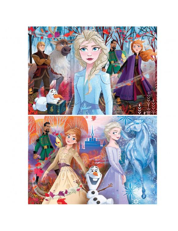 Frozen Puzzle 2X20pz