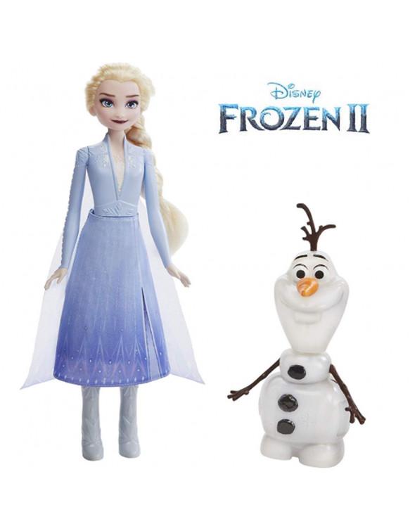 Frozen 2 Olaf & Elsa