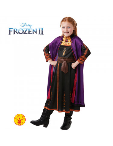Anna Frozen 2 Disfraz T.L 7 a 8 años.