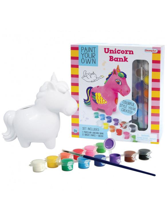 Pinta Tu Hucha Unicornio