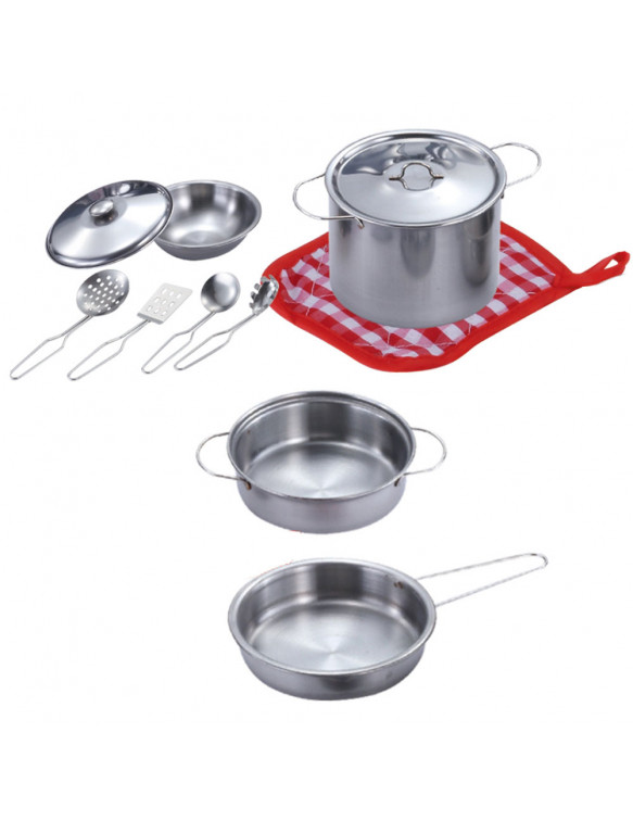 Accesorios Cocina Inoxidable 11 Pzas