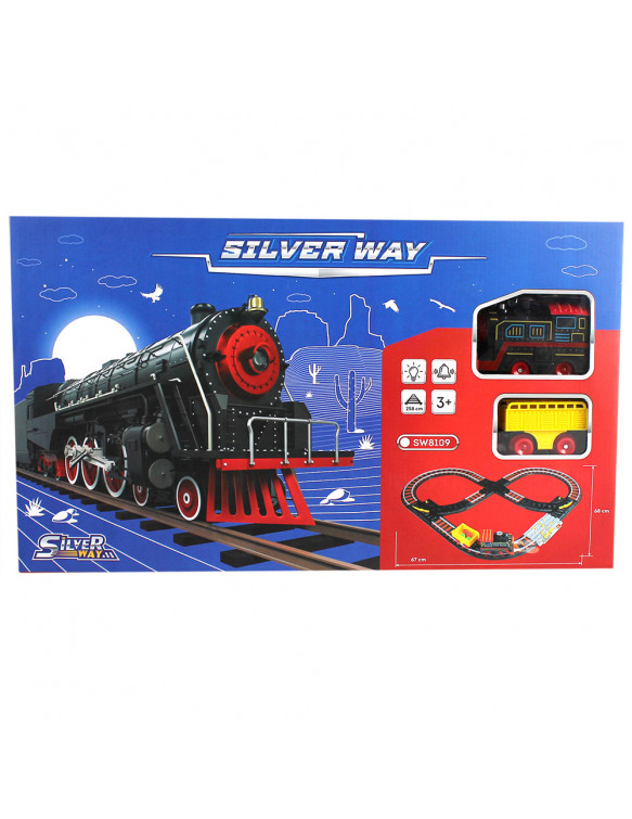 Circuito Tren Luz Sonido Silver Way