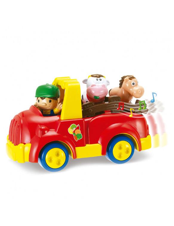 Camión Granja Con Figuras