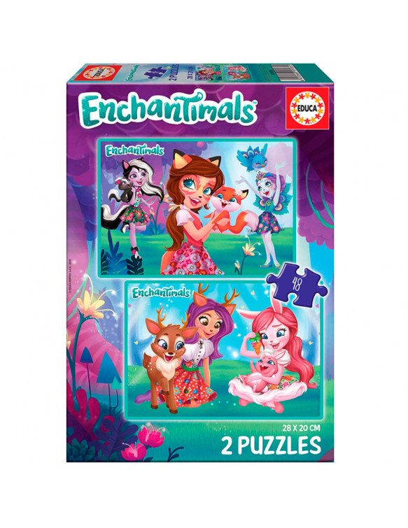 Enchantimal Puzzle 2x48pz