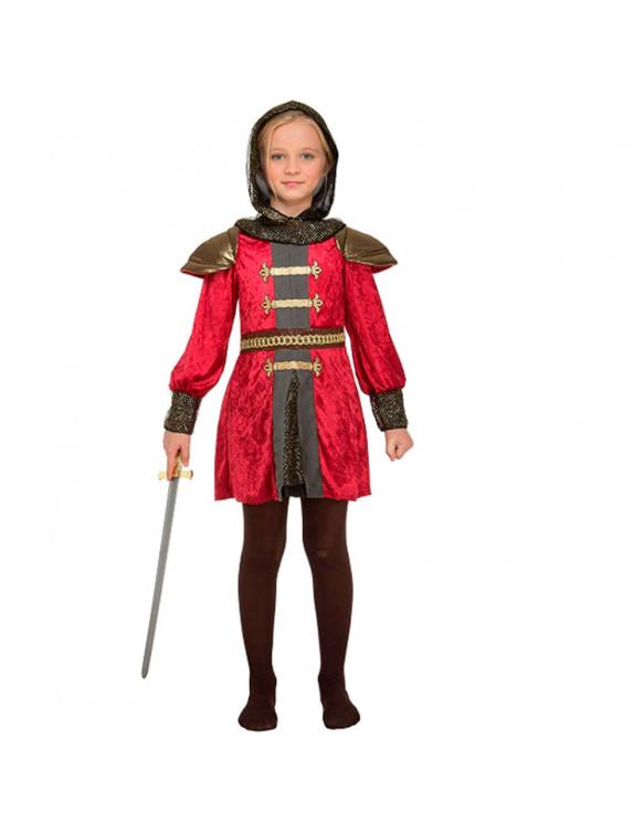 Disfraz Doncella Medieval 7-9 años
