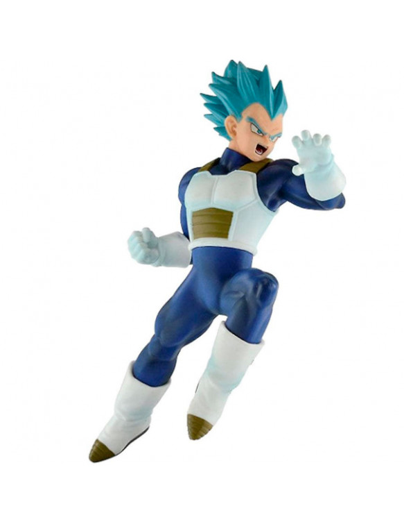 Super Saiyan Vegeta Azul Figura 16 Cm Dragon Ball Super In Flight