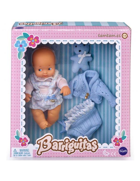 Barriguitas Para Siempre Recién Nacido Azul
